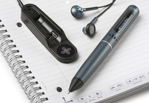 Livescribe pen USB headset